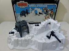 Vintage Star Wars 1980 Hoth Imperial Attack Base 100% COMPLETE With Original Box