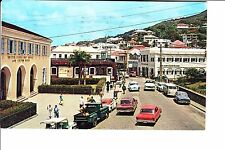 St. Thomas, US Virgin Islands   Main Square  Early 1960s