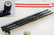 9dBi RP-SMA Antennas (3) for TP-Link TL-WDR4300 Dual Band Gigabit Router