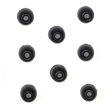 8 MEDIUM Black Foam Sleeves Ear tips SHURE EABKF1-10M PA910-M Ear adapter plugs