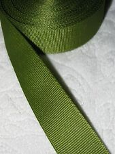 "Berwick/Offray Grosgrain Ribbon   ** Olive Green **  7/8"" Wide, 10+ Yard Roll"