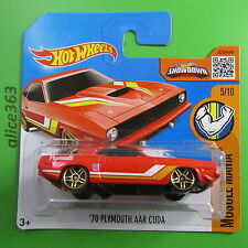 HOT WHEELS 2016 -  ´70 Plymouth AAR Cuda - Muscle Mania - 125 -  neu in OVP