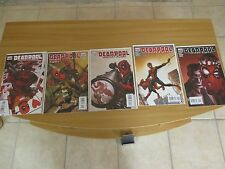 Deadpool: Suicide Kings (2009) #1-5 First Prints Complete Mini Series Benson NM