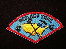 BOY SCOUT CAMP VANDEVENTER   60'S  GEOLOGY TRAIL  PP  OKAW VLY CNCL  IL