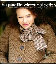 Purelife Winter Collection - Rowan Knitting Pattern Book- 17 Designs Women & Men