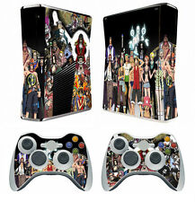 One Piece 275 Vinyl Decal Skin Sticker for Xbox360 slim and 2 controller skins