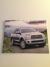 2014 Toyota Sequoia 16-page Accessories Original Sales Brochure