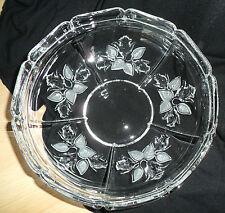 """WMF - """"Moosrose"""" - Schale Glas / Kristall - Obstschale - Salatschale - 17 cm DM"""