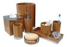 NuSteel Ageless Collection 6-Piece Bathroom Accessories Set