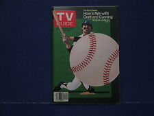 1979 TV Guide, October 6-12 How To Win Craft And Cunning The World Series