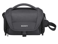 SONY LCS-U21 BLACK Camcorder Case for SLT NEX Handycam U21B Original / Brand New