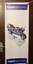 yamaha rd500lc  large pvc  garage work shop banner man cave show banner shed