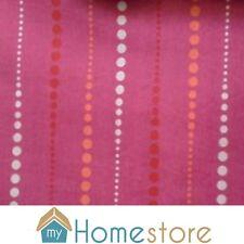 Les textiles prestigieux rideau craft tissu de coton vente réduit rose blanc rouge