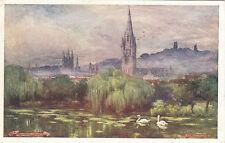 Artist Drawn, The Towers & Spires, BATH, Somerset