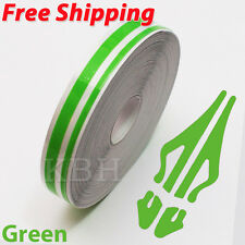 "1/2"" Streamline Pin Stripe Pinstriping 12mm Tape Vinyl Decal Sticker Car Green"