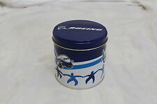The Boeing Airplane Company 4in Round Tin  With old Thank You Cookie