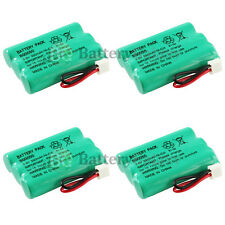 4 Cordless Home Phone Battery 350mAh NiCd for V-Tech 89-1323-00-00 Model 27910
