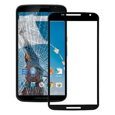 Vetro display Vetro Nero Google per Motorola Nexus 6 Accessori + Riparazione KIT