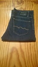 "Mens Teddy Smith Neo Reg UK D BR Jeans Size W30"" x L28"" Dark Blue BX4"
