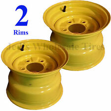 "TWO 10"" RIM WHEEL for John Deere Zero Turn Riding Lawn Mower Garden Tractor 10x7"