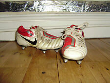 NIKE TOTALNINETY SHIFT FOOTBALL BOOTS BLADES SIZE 1 GOOD CONDITION
