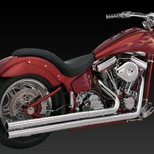 1986-2006 HARLEY SOFTAIL Longshots Full Exhaust System (VANCE AND HINES 17811)