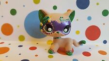 Short Hair Cat Mardi Gras Mask * OOAK Hand Painted Custom Littlest Pet Shop