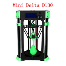 Delta DIY 3D Printer Kit Mini Delta D130 4GB SD Crd bundle Cable+Filament sample