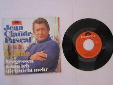 """Jean Claude Pascal - Celine - Vergessen kann ich dich nicht - Single - 7"""" - 1816"""