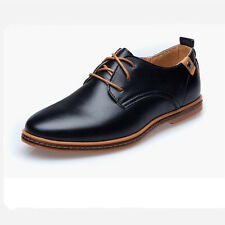 NEW Fashion Men's European style oxfords leather Shoes Casual Shoes Larger size