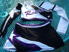 VARSITY CHEERLEADER SPARKLE TOP Skirt Shorts PARTY Clubwear Bodycon Party