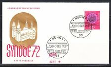 Germany 1972 FDC cover Mi 752 Sc 1100 Wurzburg Cathedral,church.Synode'72