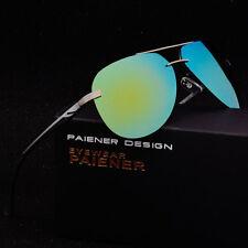 Gafas de sol polarizadas, Paiener Yellow, #616, UV400 gran calidad + estuche