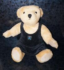 AMERICAN GIRL Plush DOLL TEDDY BEAR + VELVET DRESS Shirt Pleasant Co. OFFICIAL