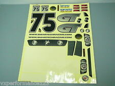 0515078 1/5 On Road Decal Mustang GT FG Sportsline Smartech Carson C5 Touring