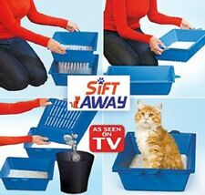 Sift Away - Self Sifting Litter Box - 3 Part System - Don't Scoop The Poo... New