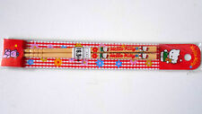 VINTAGE! 1994 HELLO KITTY Chopsticks Collectable Item by Sanrio Japan Wood