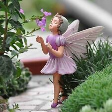RETIRED CICELY MARY BARKER FLOWER FAIRY LILAC Fairy ORNAMENT MINIATURE GARDENING