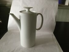 Thomas Porcelain with gold fine line Coffee Pot Used only a few times