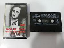 PACO DE LUCIA ENTRE DOS AGUAS CINTA TAPE CASSETTE 1982 SPANISH EDITION SMASH