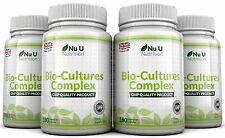 Nu U Probiotics 720 Capsules 10 Billion Forming CFU's yeast infections leaky gut