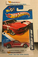 '67 Shelby GT-500 #114 * RED Kmart Only * 2012 Hot Wheels * N167