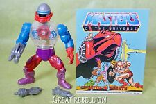 HE-MAN Masters of the Universe ROBOTO action figure complete 1980's Mattel