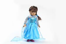 Hot sell fashion clothes dress for 18inch American girl doll party b121