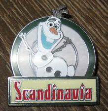Disney Frozen Epcot Food And Wine 2014 Olaf Scandinavia Marquee LE of 1000 Pin