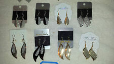 Joblot 60 Pairs Mixed design metal Fashion Dangly Earrings - NEW Wholesale lot W