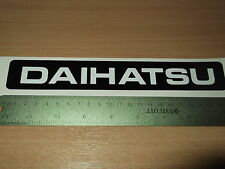 Daihatsu Sportrak replacement Tailgate sticker
