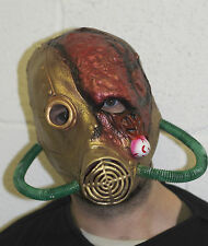 Toxic Zombie Halloween Latex Gas Mask Fancy Dress Radiation Bio Hazard Outbreak