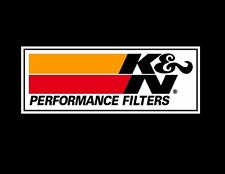 K&N OIL AIR FILTER RACING RALLY NASCAR DECAL sticker