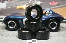 SOFT URETHANE SLOT CAR TIRES 2pr PGT-24125XXD fit CARRERA BTM Cheetah NEW SIZE